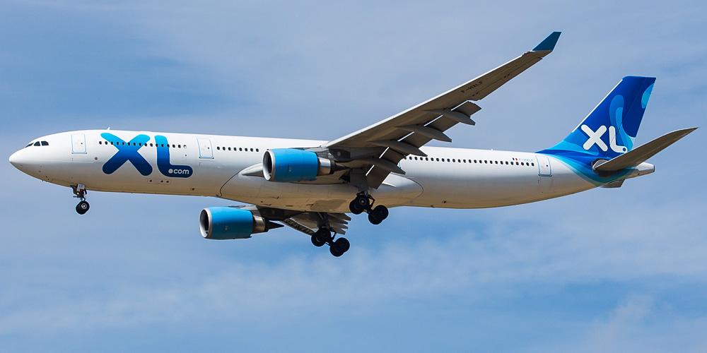 Самолет Airbus A330-300 авиакомпании XL Airways France