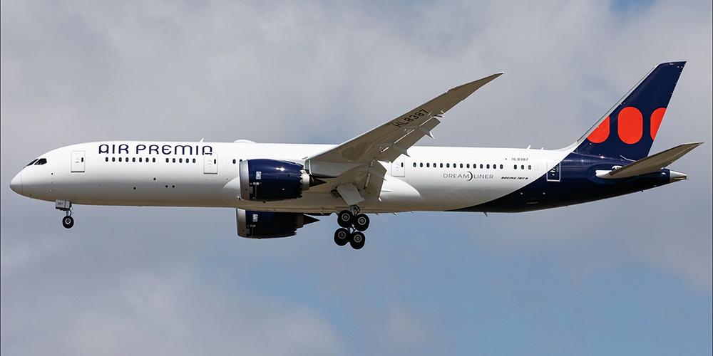 Boeing 787-9 авиакомпании Air Premia