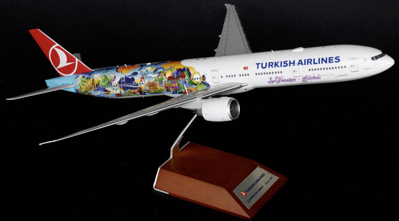 "Boeing 777-300ER ""Istanbul-SanFrancisco"""