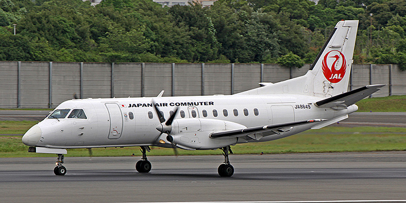 Saab 340 авиакомпании Japan Air Commuter