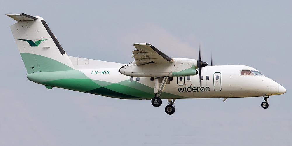 Wideroe's Flyveselskap airline