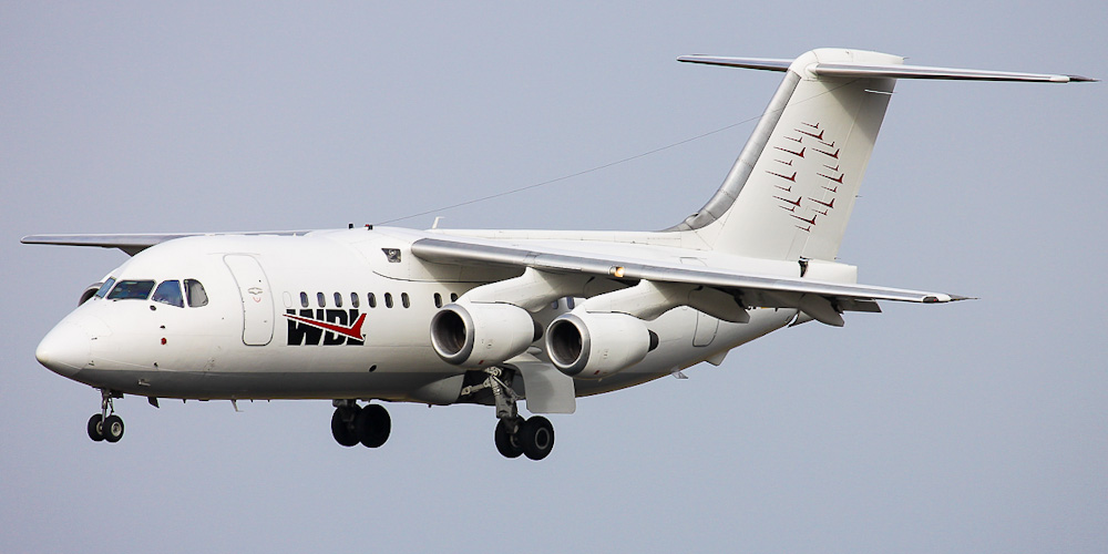 BAe-146 авиакомпании WDL Aviation