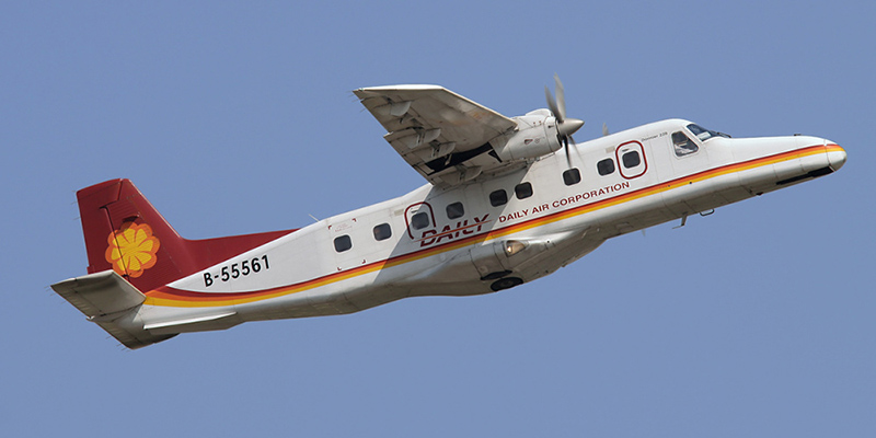 Dornier 228 авиакомпании Daily Air