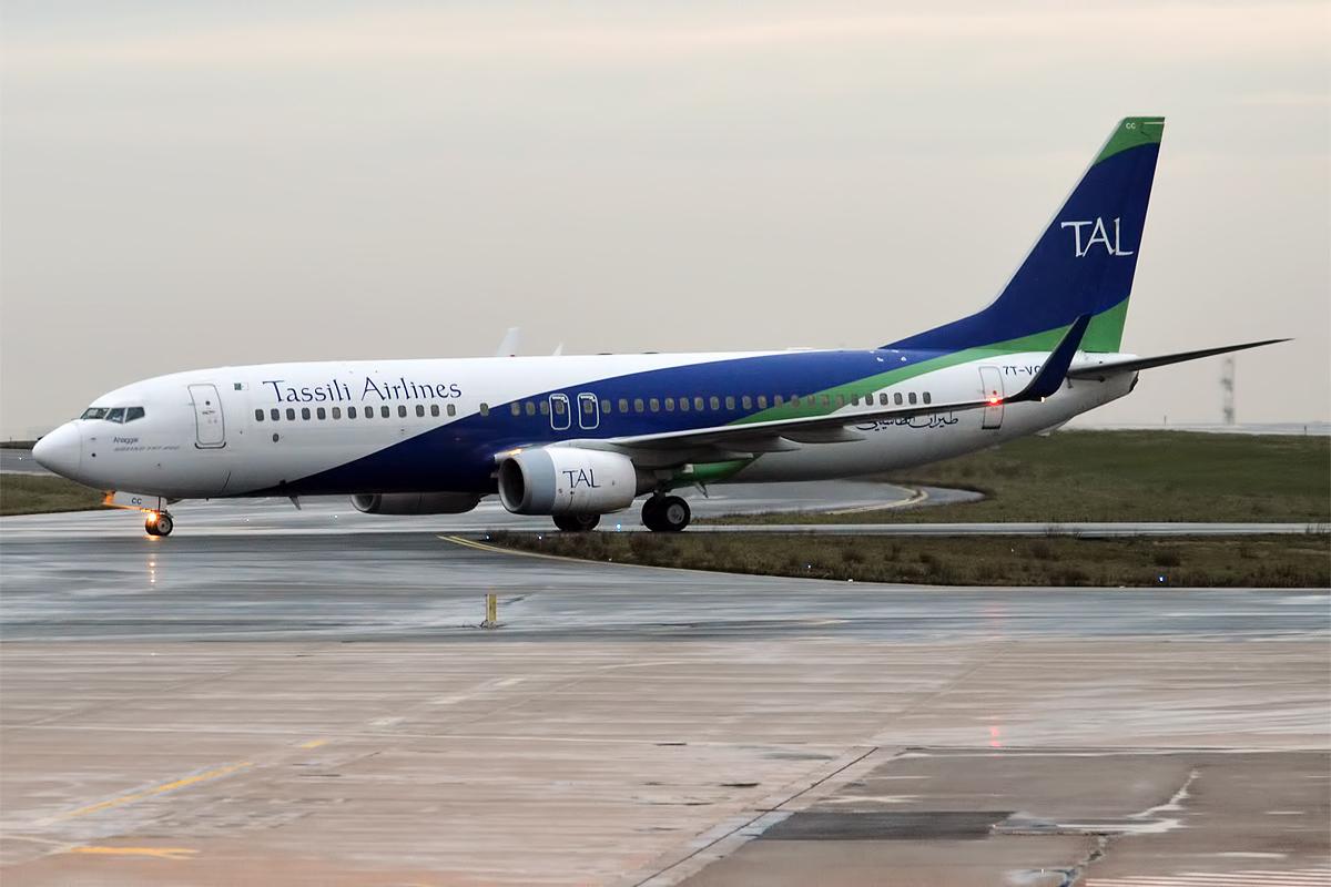 Boeing 737-800 авиакампании Tassili Airlines