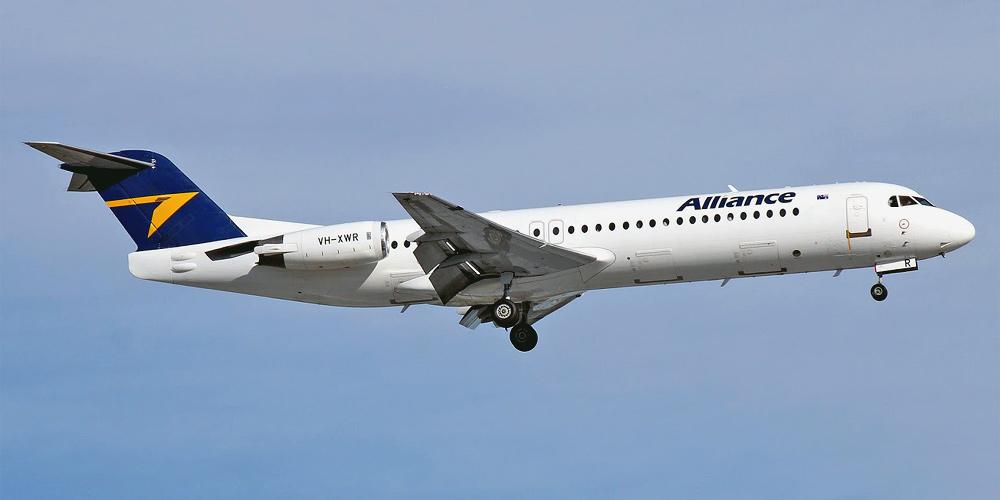 Fokker 100- пассажирский самолет. Фото, характеристики, отзывы.