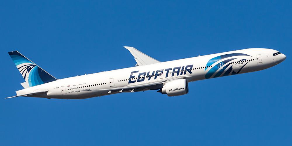 Боинг-777-300 авиакомпании Egyptair