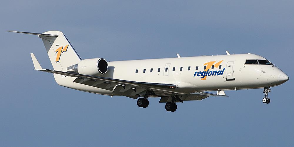 Bombardier CRJ200 авиакомпании Regional 1 Airlines