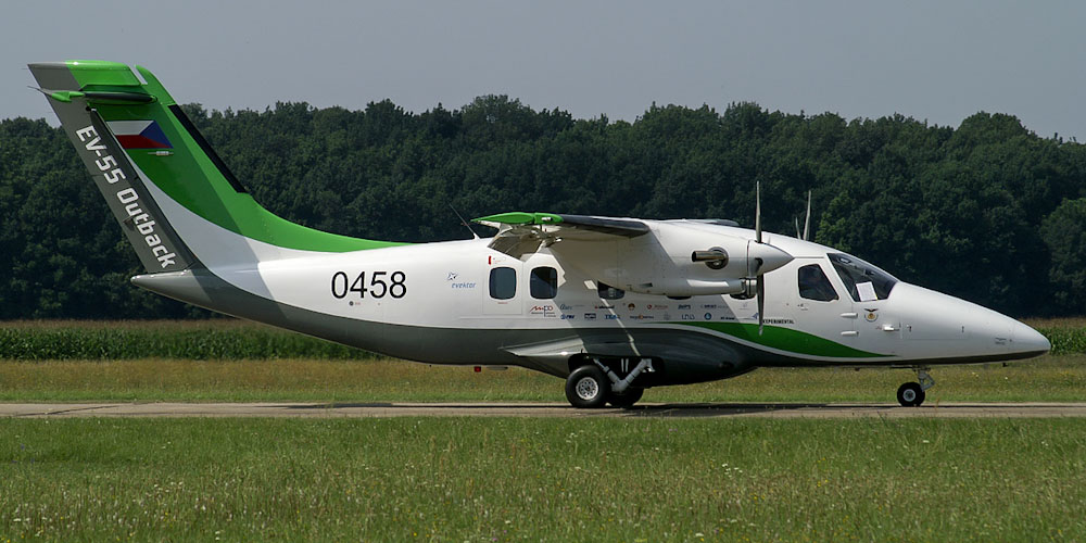 Evektor EV-55 Outback- passenger aircraft. Photos, characteristics, reviews.
