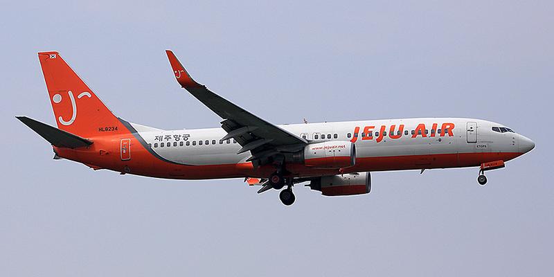 Боинг-737-800 авиакомпании Jeju Air