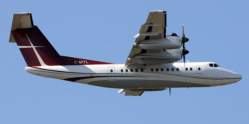 Bombardier Dash 7- пассажирский самолет. Фото, характеристики, отзывы.