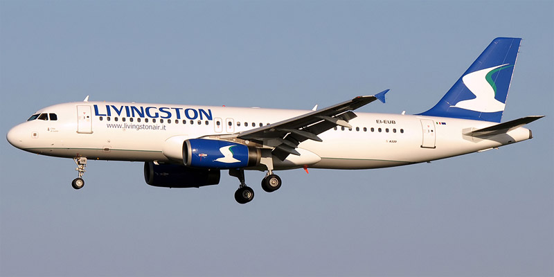 Airbus A320 авиакомпании Livingston