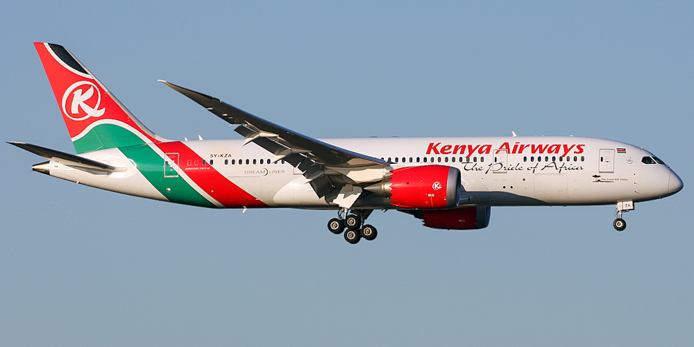 Kenya Airways airline