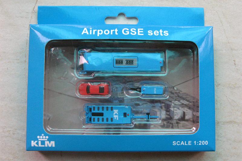 Наземная техника KLM - набор 3