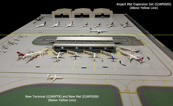 Модель аэропорта - полный комплект