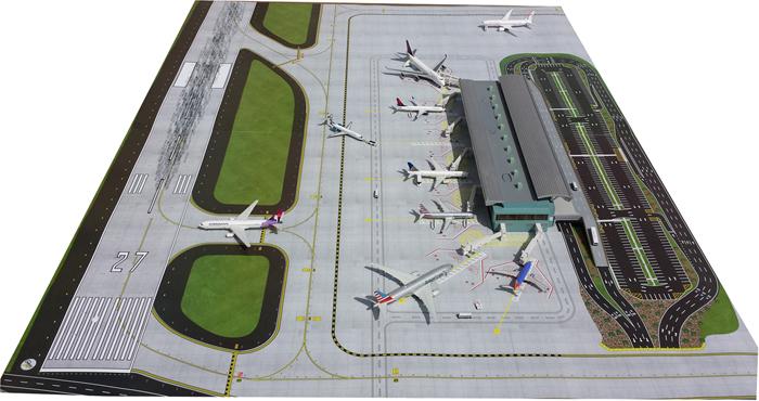 Аэровокзал + летное поле
