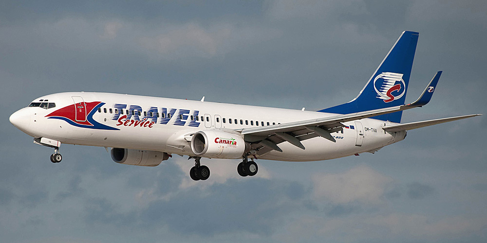 Travel Service Slovakia airline