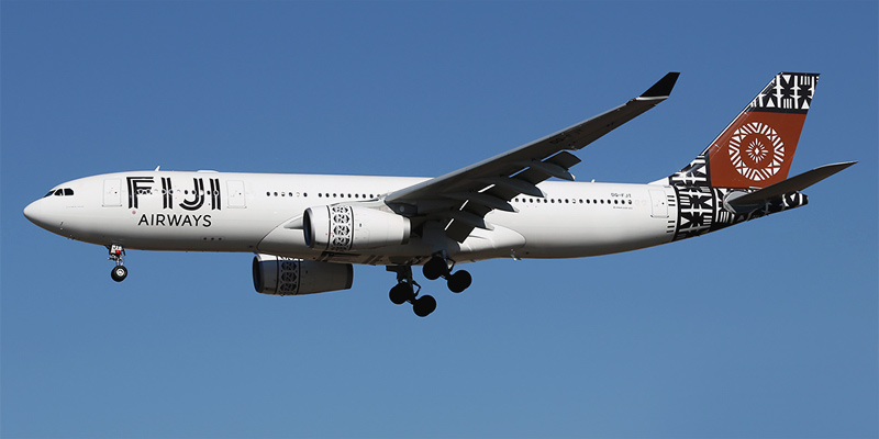 Самолет Airbus A330-200 авиакомпании Fiji Airways