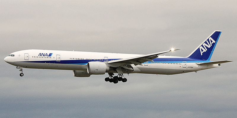 Boeing 777-300 авиакомпании All Nippon Airways