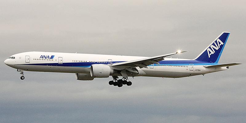 Boeing 777-300 авиакомпании All Nippon Airways
