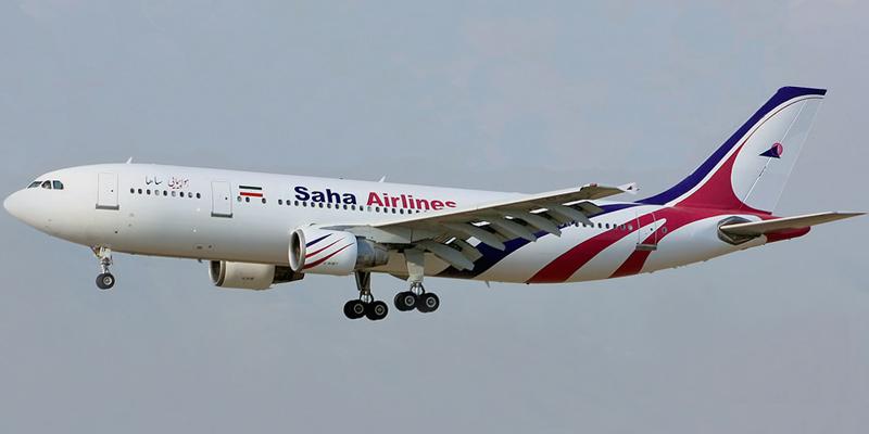 Airbus A300 авиакомпании Saha Air