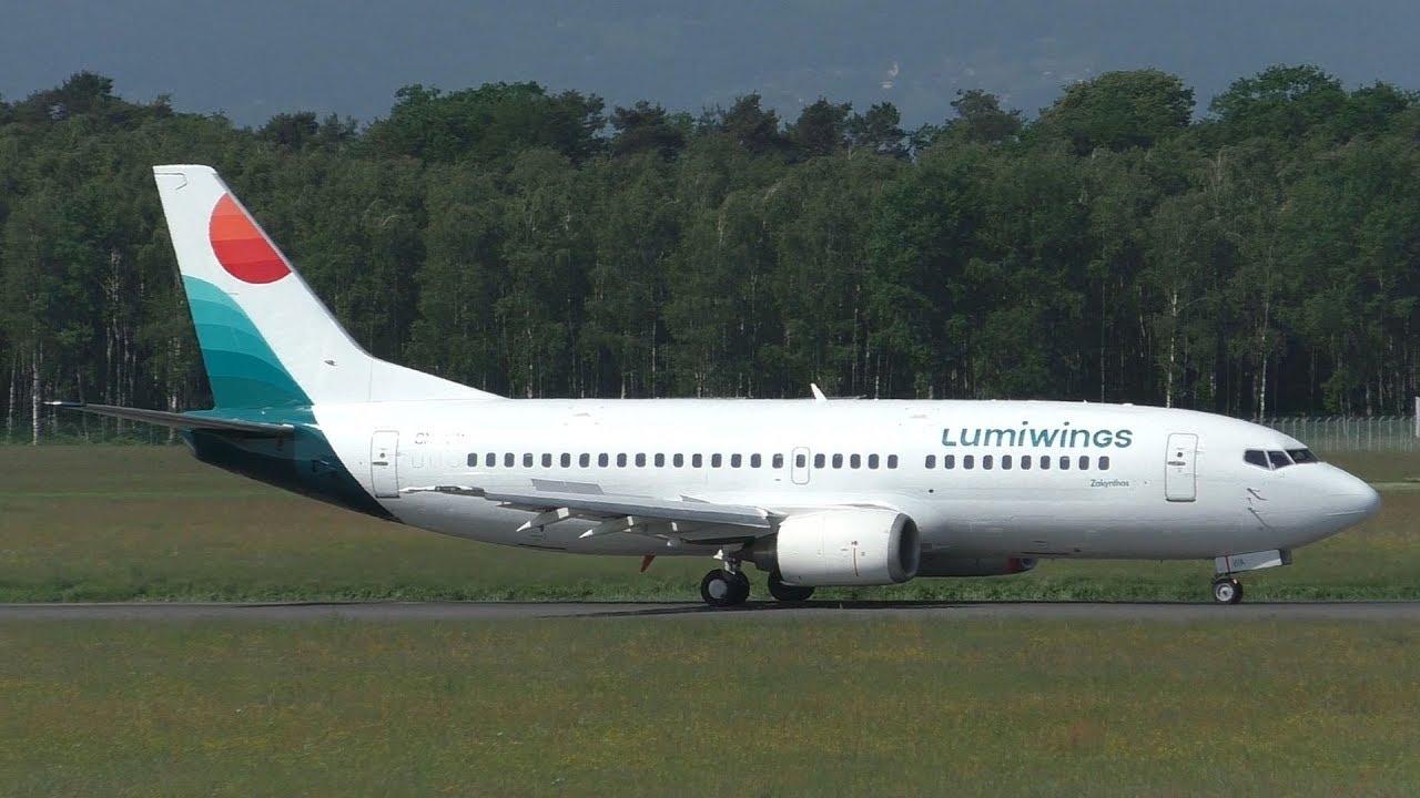 Самолет Boeing 737-300 авиакомпании Lumiwings