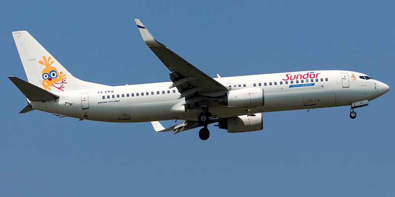 Авиакомпания Сандор Интернешнл Эйрлайнз (Sun D'or International Airlines)