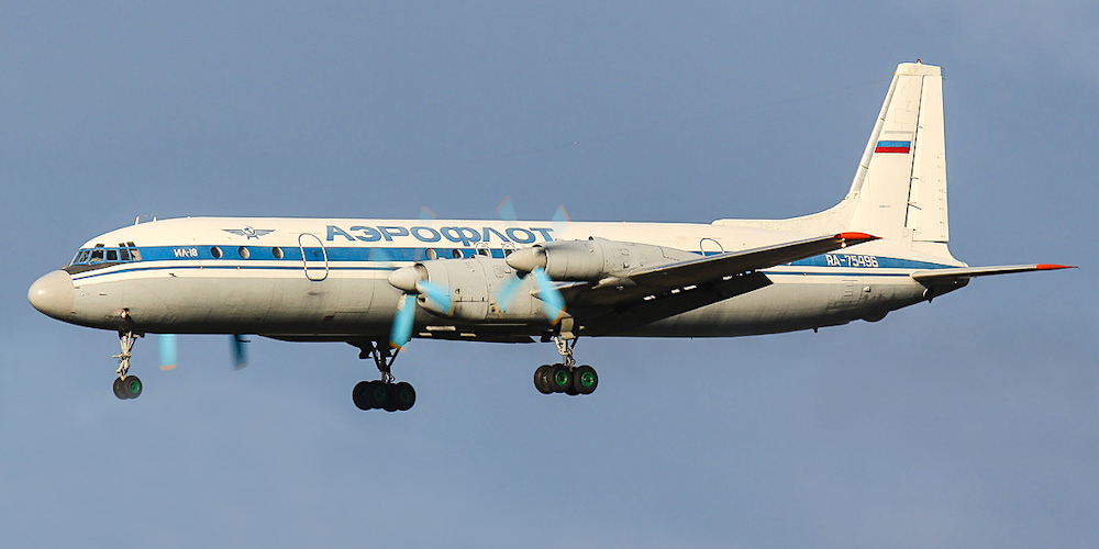 Ilyushin Il-18- passenger aircraft. Photos, characteristics, reviews.