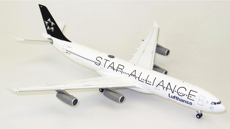 "Airbus A340-300 ""Star Alliance"""