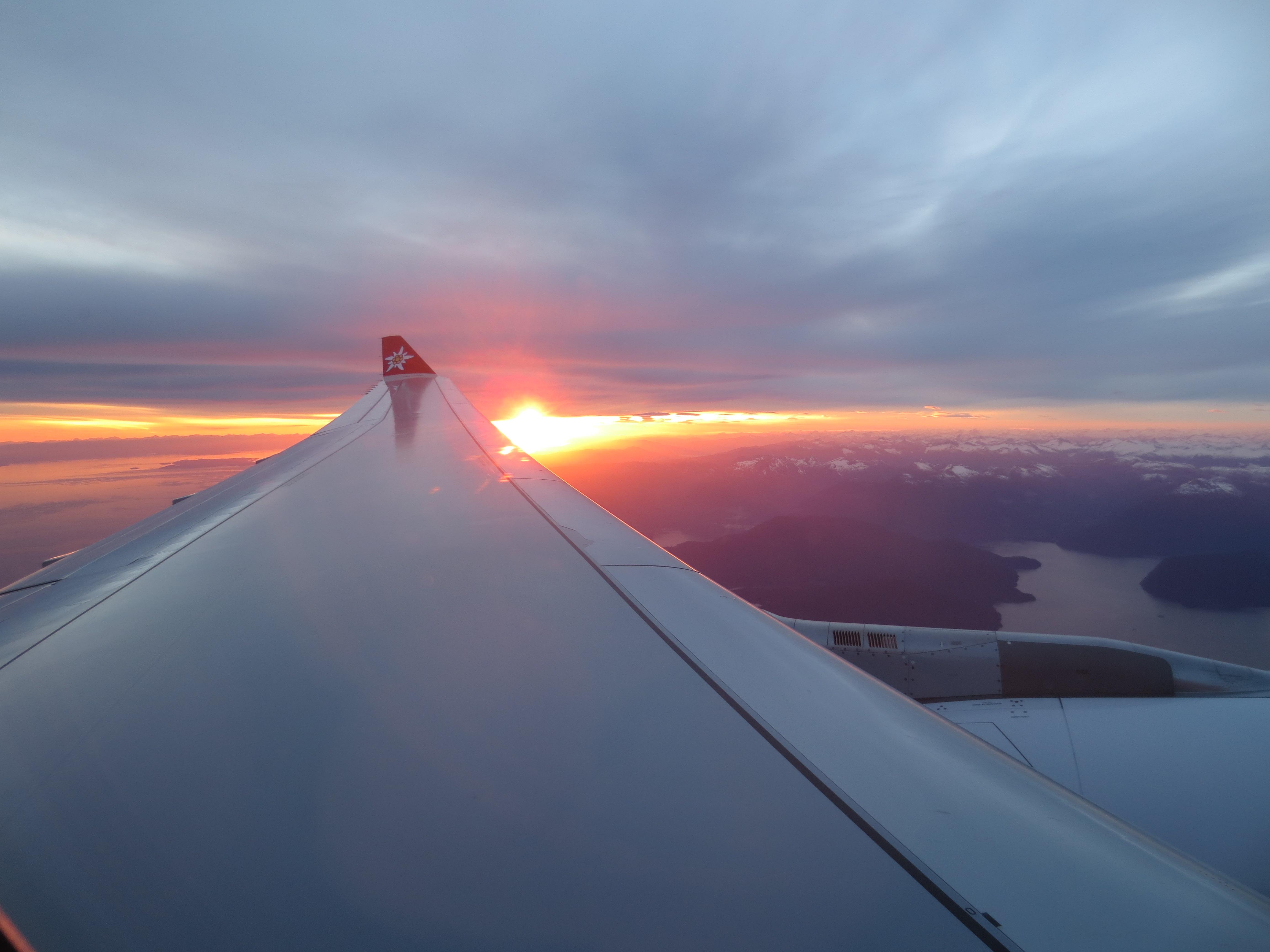 Западное побережье Канады, от Ванкувера до Цюриха с Эдельвейс. Это было пару лет назад ... но так красиво! Надеюсь, я увижу это снова...