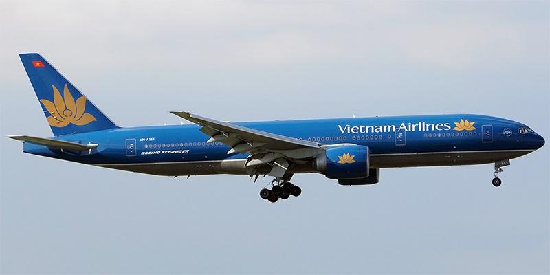 Самолет Boeing 777-200ER авиакомпании Vietnam Airlines