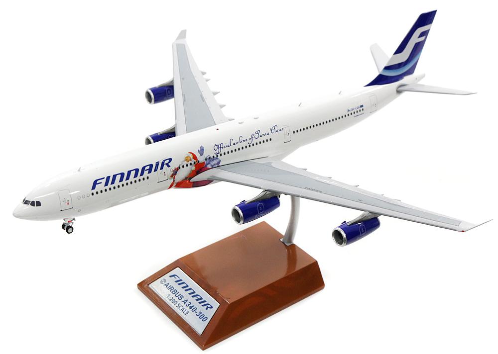 """Airbus A340-300 """"Santa Claus"""""""