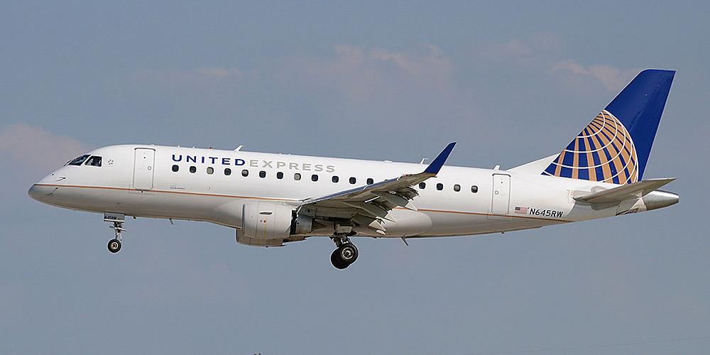 Самолет Embraer 170 авиакомпании Shuttle America