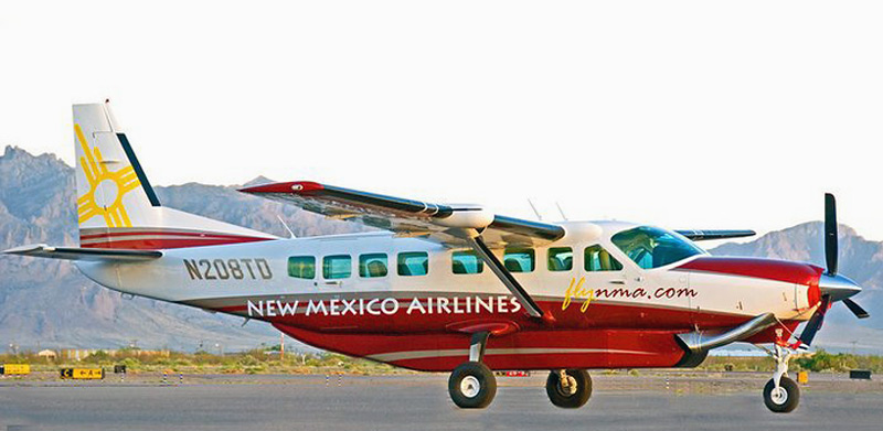 Самолет Cessna Grand Caravan авиакомпании New Mexico Airlines