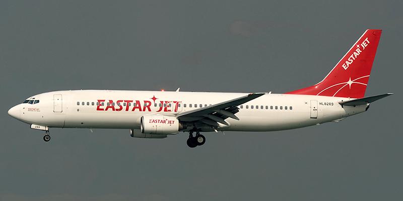 Боинг-737-800 авиакомпании Eastar Jet