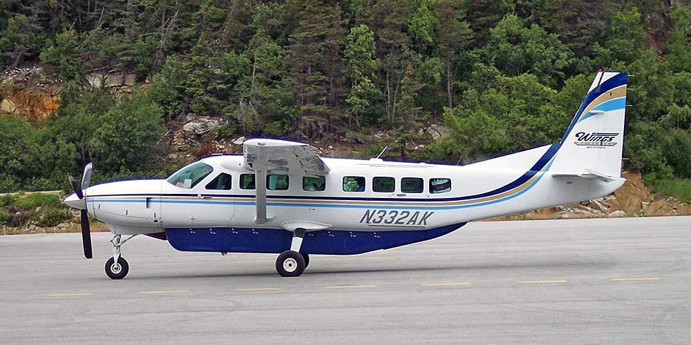 Самолет Cessna Grand Caravan авиакомпании Wings of Alaska