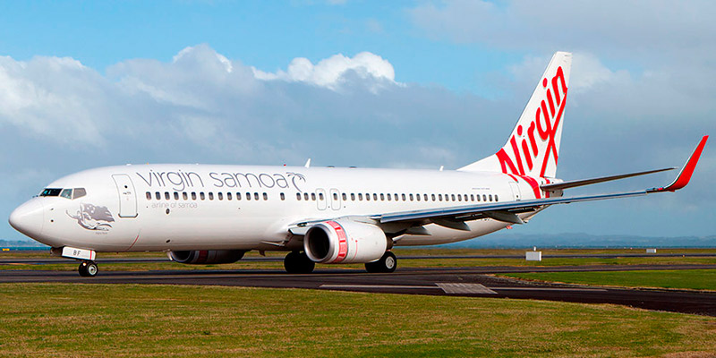 Virgin Samoa airline