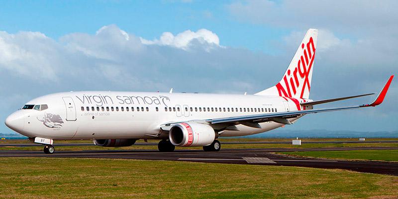 Самолет Боинг-737-800 авиакомпании Virgin Samoa