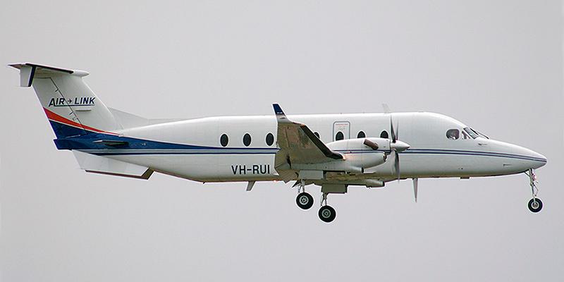 Самолет Beech 1900 авиакомпании Air Link