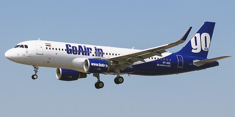 Airbus A320 авиакомпании GoAir