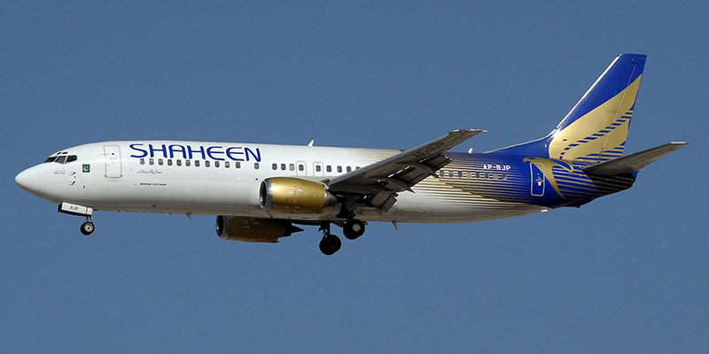 Боинг-737-400 авиакомпании Shaheen