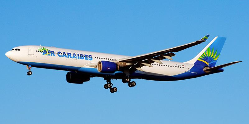 Самолет A330-300 авиакомпании Air Caraibes