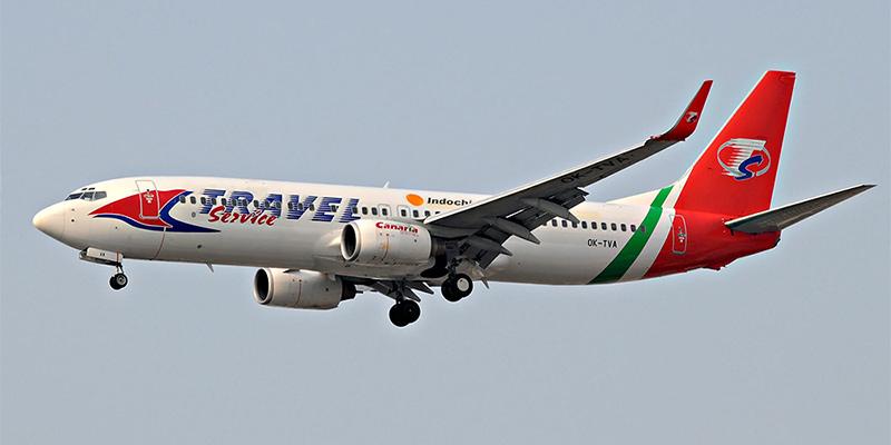 Самолет Боинг-737-800 авиакомпании Indochina Airlines