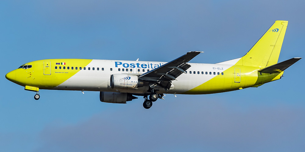 Боинг-737-400 авиакомпании Mistral Air