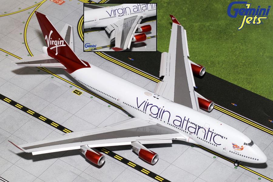 Boeing 747-400 (с механизацией крыла)