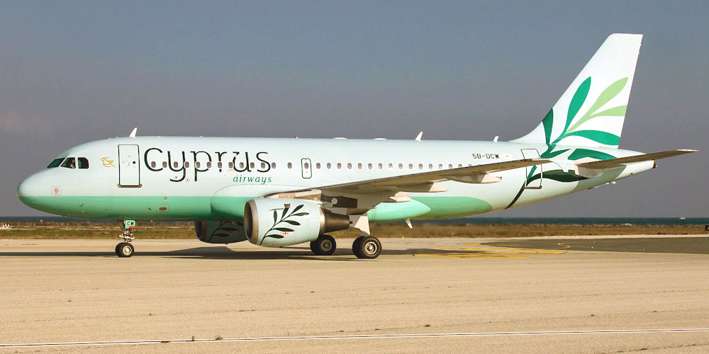Airbus A319 авиакомпании Cyprus Airways