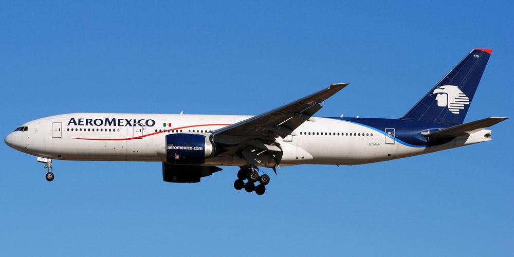 Boeing 777-200 авиакомпании Aeromexico
