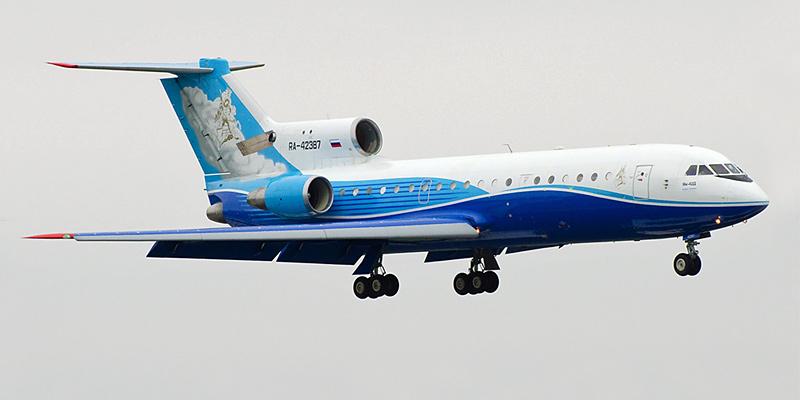 Самолет Як-42 авиакомпании РусДжет