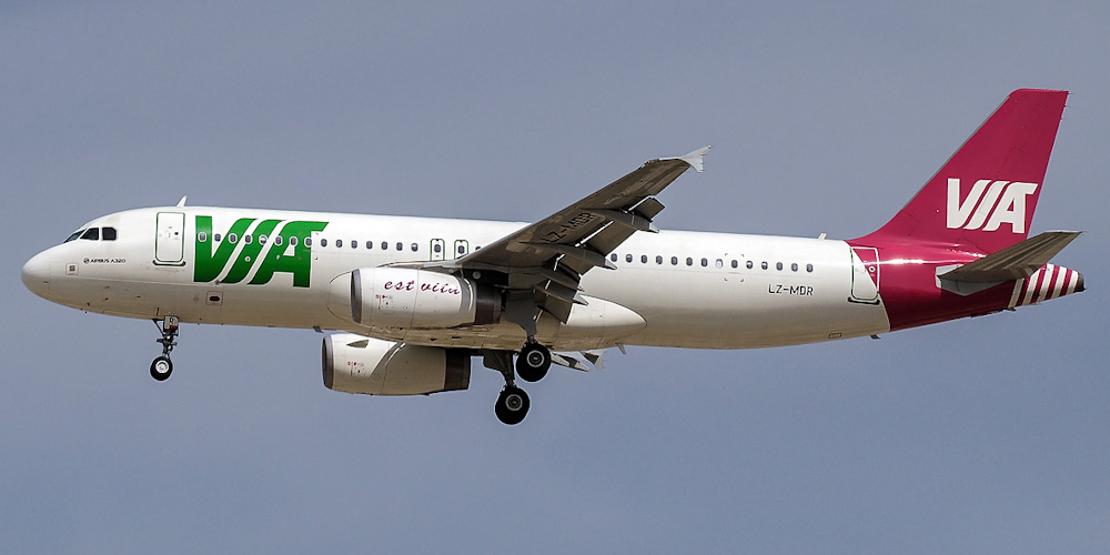 Airbus A320 авиакомпании Air Via Bulgarian Airways