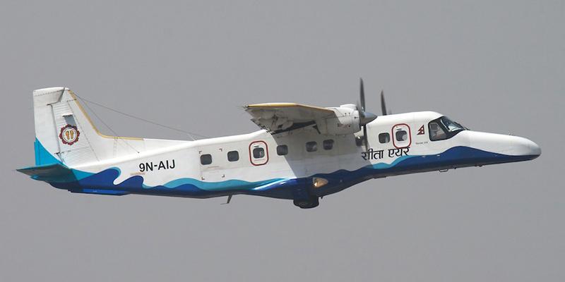 Dornier 228 авиакомпании Gorkha Airlines