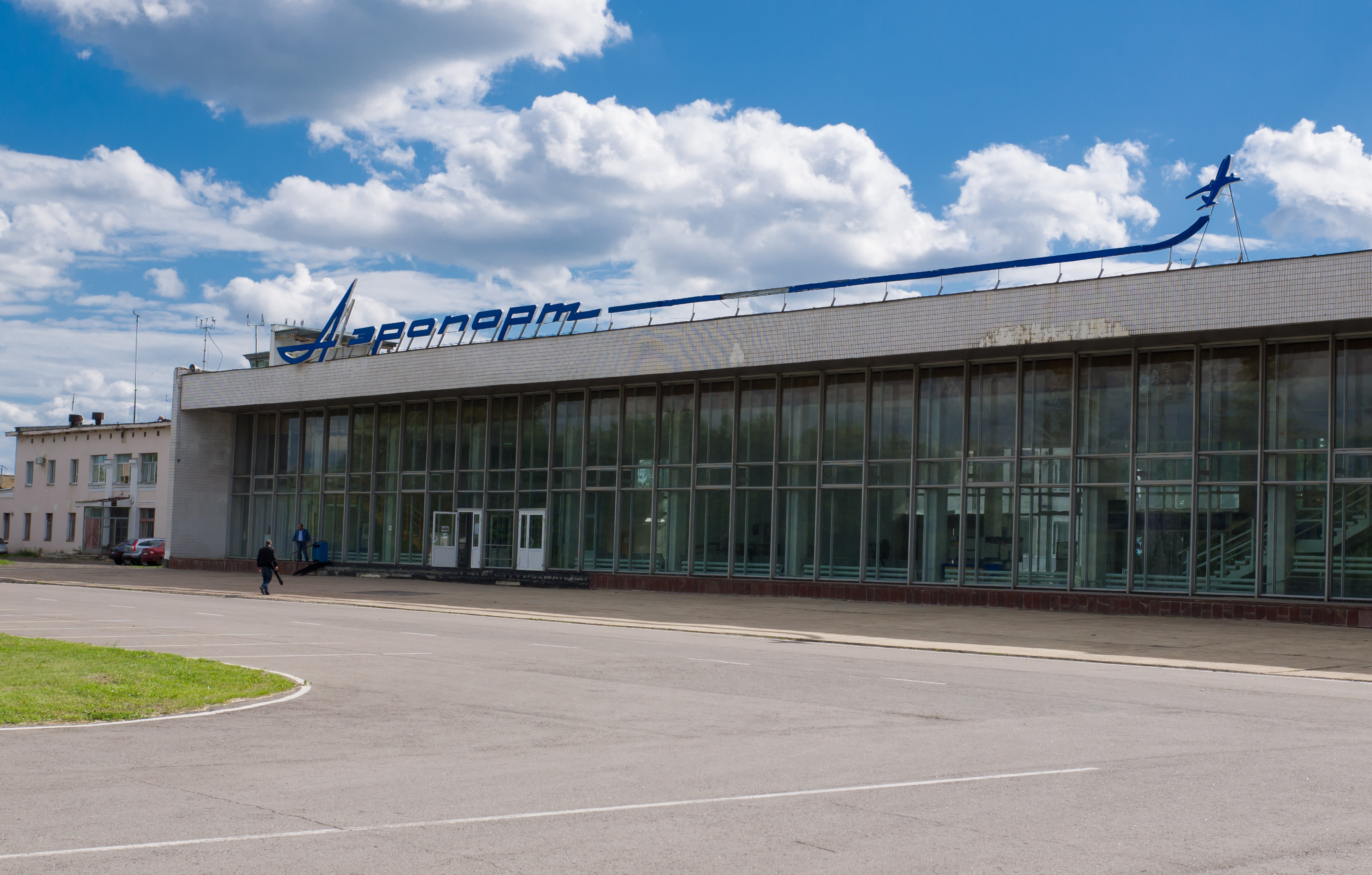 The terminal of the airport Tambov Donskoye